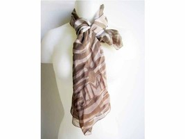Jimmy Choo Shana Natural Sand Scarf 70x200 - $166.32