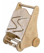 PUSH WALKER w MAZE & BLOCK ROLLER  SET Baby Wooden Toddler Toy Handcraft... - $94.45