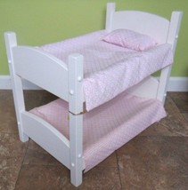 """DOLL BUNK BED  Stackable furniture for 18"""" doll... - $163.59"""