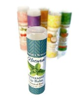 Sensation Lip Balm   All Natural And Handmade Fresh Wintergreen 4 Spf Usa Made - $5.89