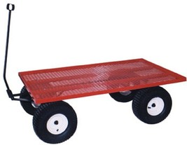 AMISH STEEL BED WAGON Heavy Duty Utility Lawn Yard Garden Beach Pull Car... - $547.59+