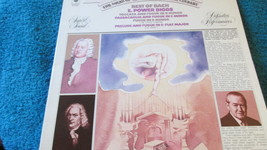 The Best Of Bach Record Album - $4.49