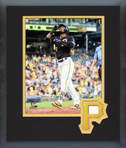 Starling Marte 2016 Pittsburgh Pirates - 11 x 14 Team Logo Matted/Framed Photo - $43.55