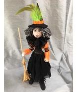"""Strega the Witch"" PDF Digital Pattern By Jan Horrox - $13.00"
