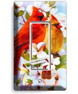 CARDINAL BIRDS MAGNOLIA FLOWERS TREE 1 GFCI LIGHT SWITCH WALL PLATES ROO... - $8.99