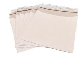 25 11x13.5 Stay Flat Rigid Mailer Cardboard Whi... - $17.92