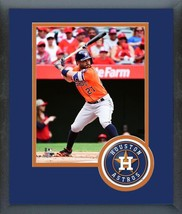 Jose Altuve 2016 Houston Astros - 11 x 14 Team Logo/Matted/Framed Photo - $42.95