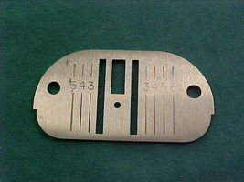 Singer Straight Stitch SS Single Needle Plate #171137 - $8.85