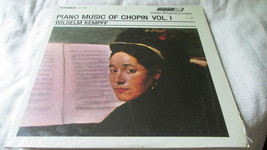 Piano Music Of Chopin Record Album - $6.29
