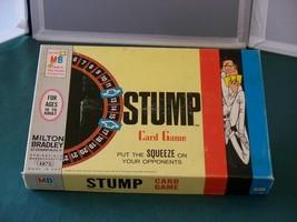 Stump Card Game Milton Bradley 1968 Complete Good Condition - $9.00