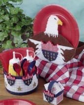 American Eagle Picnic Set Annie's Plastic Canvas Pattern 30 Days to Shop & Pay! - $4.11