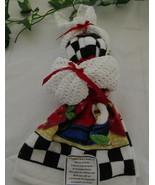 Hand Crocheted Dishrags & Towel Bunny  - $20.00