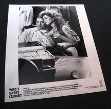 1989 Movie WHO'S HARRY CRUMB? 8x10 Press Photo Barry Corbin Annie Potts - $9.87