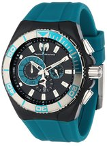 NWT TechnoMarine Men's 112010 Cruise Locker Nylon Strap with Key Ring Watch - $439.95