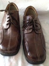 Dockers Prostyle Mens Shoes Brown 8M Tie Up All Motion Comfort - $19.20