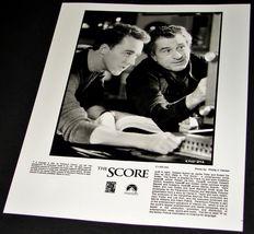 2001 THE SCORE Movie Press Kit Photo Edward Norton Robert De Niro C1165-24A - $9.49