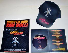 2006 SNAKES ON A PLANE Movie Promo Set CD PRESS KIT, HAT, T-SHIRT IRON O... - $11.11