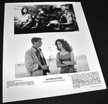 1988 Movie SATISFACTION Press Kit Photo Julia Roberts Justine Bateman - $10.99