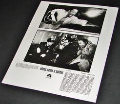 2001 Along Came A Spider Movie Press Photo Morgan Freeman Dylan Baker Ff 1/8812 - $9.49
