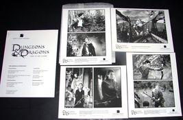 2000 DUNGEONS & DRAGONS Movie PRESS KIT Handbook 8x10 Photos NEW LINE - $11.11