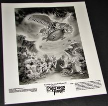 1993 Once Upon A Forest Movie Press Kit Photo Hedgehog Russell Mole Edgar Mouse - $9.49