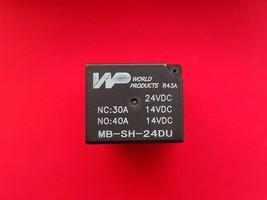 Mb Sh 24 Du, 24 Vdc Relay, Wp Brand New!!! - $5.45