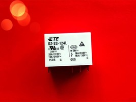 Oz Ss 124 L, 24 Vdc Relay, Te Brand New!! - $4.90