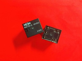 861 1 A C, 12 Vdc Relay, Song Chuan Brand New!! - $5.45