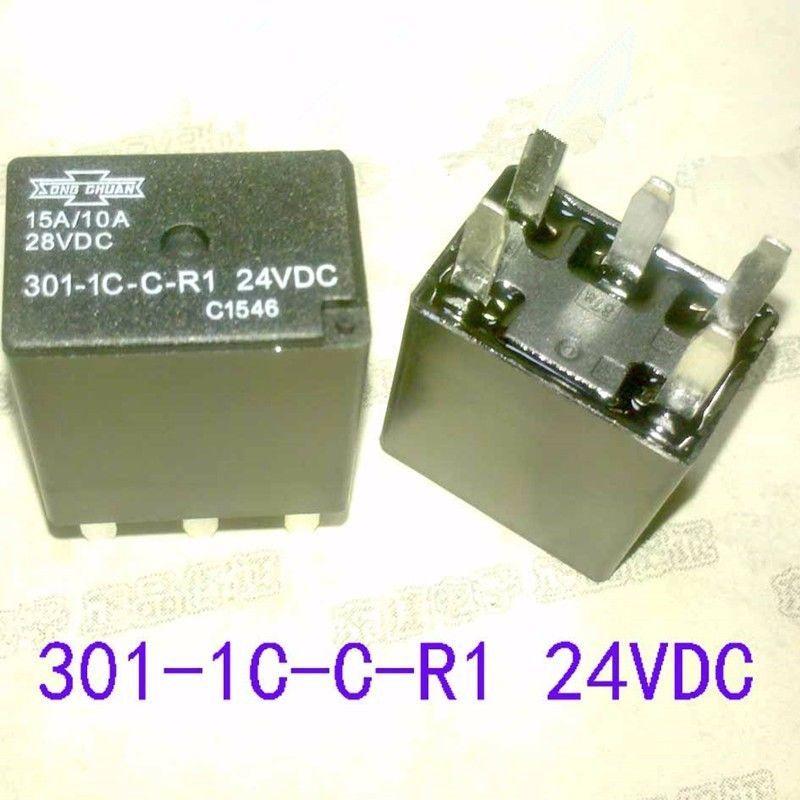 301-1C-C-R1, 24VDC Relay, SONG CHUAN  Brand New!! - $6.44