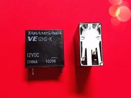 Ve12 Hs K, 12 Vdc Relay, Takamisawa Brand New!! - $5.94