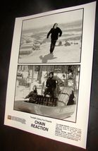 "1996 CHAIN REACTION Movie Press Kit 8x10"" Photo Rachel Weisz Keanu Reeves - $10.99"