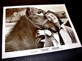 1978 Bryan Forbes Movie International Velvet 8x10 Press Photo Tatum O'neal Horse - $12.34