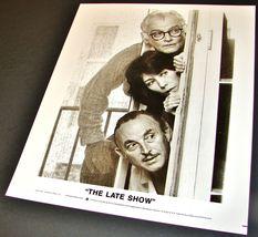1977 Robert Benton Movie THE LATE SHOW 8x10 Press Photo Art Carney Lily Tomlin - $11.39