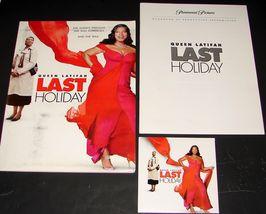 2005 Movie LAST HOLIDAY PRESS KIT 23 Photo CD-ROM Production Notes & Folder - $16.19