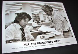 1976 Movie All The Presidents Men 8x10 Press Photo Robert Redford Dustin Hoffman - $12.82