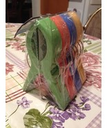 """Jumbo Multi Color Wire Snack Clips 5 1/2"""" High Set of 4 Brand New Sealed - $14.99"""