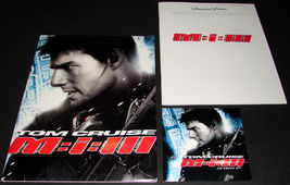 2006 MISSION IMPOSSIBLE III Movie PRESS KIT Folder CD Production Note To... - $12.99