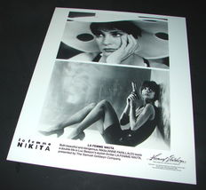 1990 Luc Besson Movie La Femme Nikita 8x10 Press Photo Anne Parillaud - $10.44