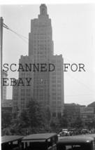 July 1933 Original Photo Negative  Big Building Rhode Island - $12.50