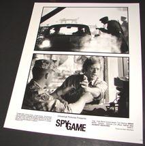 2001 Tony Scott Movie SPY GAME Press Photo BRAD PITT Robert Redford 5555-3 - $9.99
