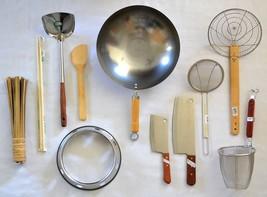 WOK SET + Asian Cooking STARTER KIT Turner CLEA... - $89.75