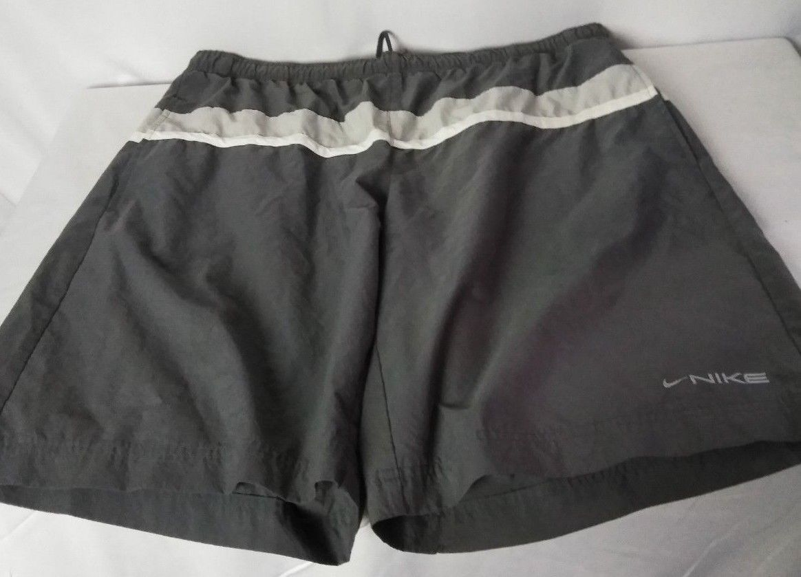 695b9c4f0a3 NIKE Swim Shorts Trunks Mens XL Gray White and 50 similar items. S l1600
