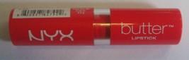 Nyx Butter Lipstick 06 Fireball .16oz New Sealed - $6.13