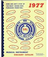 ORIGINAL Vintage 1976 & 1977 PMI Professional Music Instruments Catalog Lot - $46.56
