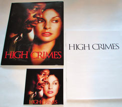 2002 HIGH CRIMES Movie PRESS KIT - Folder, Disc, and Production Notes Ha... - $13.49