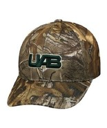 Alabama Birmingham Blazers NCAA TOW Real Tree Camo Memory Fit Hat - $16.78