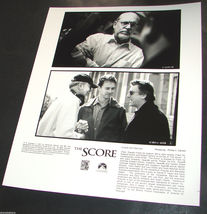 2001 Movie The Score Press Photo Director Frank Oz Robert De Niro Edward Norton - $10.99