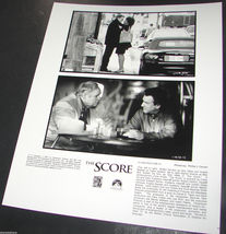 2001 Movie THE SCORE Press Photo Robert De Niro Marlon Brando Angela Bassett - $10.99