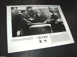 2001 Frank Oz Movie THE SCORE Press Photo Robert De Niro Edward Norton C1165-29 - $12.59