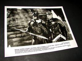 1997 Batman & Robin Movie 8x10 Press Photo George Clooney Chris O'donnell 37 R - $11.69